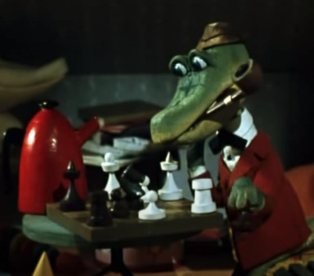 Il coccodrillo Ghena