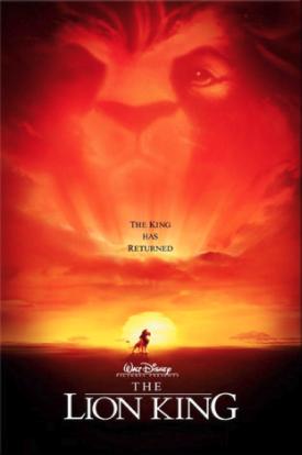 il re leone locandina messaggio subliminale